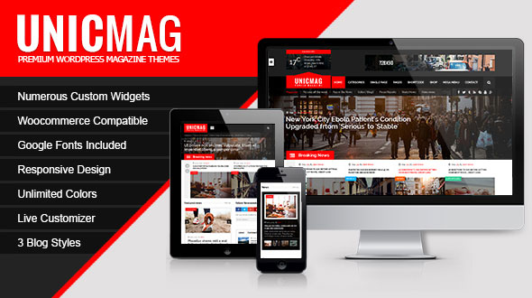 Download Nulled UnicMag Free v1.0.9 - Freethemes.space